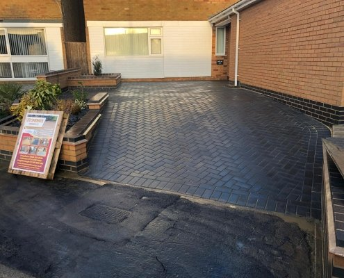 block-paving-drive-fleckney