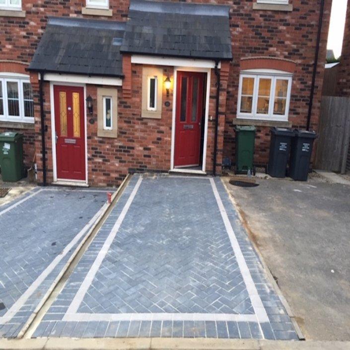 block paving driveway Birstall Leicester
